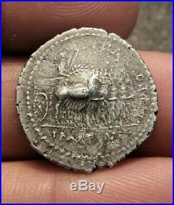 Roman Silver Coin Denarius Tiberius Denier Tibère SPLENDIDE