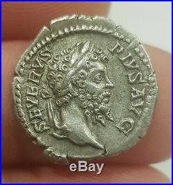 Roman Silver Coin SEPTIME SÉVÈRE Denier