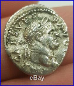 Roman Silver Coin Vespasien Denier (72/73, Rome)