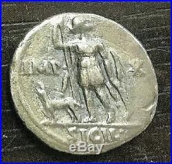 Rome Auguste (-27 / +14) Denier De Lyon Revers Imp X