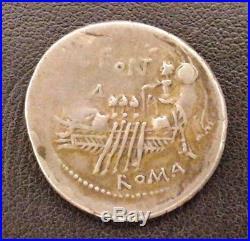 Rome C. Fonteius 44-113 Av Jc Denier