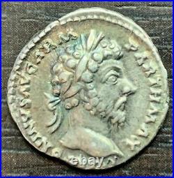 Rome Marc Aurele 161-180 Denier Vie Par