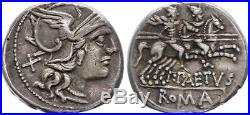 Rome Rép Denier, Aelia -138 Rome TTB