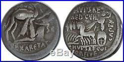 Rome Rép Denier, Aemilia -58 Rome TB
