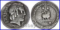 Rome Rép Denier, Fonteia -85 Rome TB+
