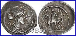 Rome Rép Denier, Licinia -55 Rome TB+