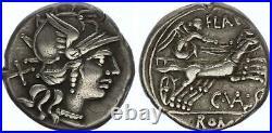Rome Rép Denier, Valeria -140 Rome TTB+