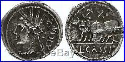 Rome République Denier, Cassia -102 Rome TTB