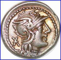 S6283 denier Caecilius Metellus Pius denier denarius Bellona Roma Silver SUP