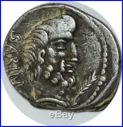S744 Denier Dena L. Titurius Sabinus 89 Sabin Silver L TITVRI Make offer