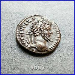 Septime Sévère Denier La Fortune Laodicee Septimius Severus #M241