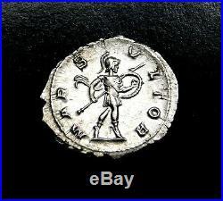 Severus Alexandre. Exceptionnel Denier d'argent circa AD 232. Romain Ancien
