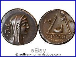 Sulpicia Denier 69 Av Jc Rome