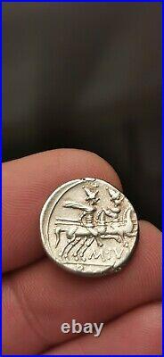 Superbe denier en argent république romaine! 3,90 g