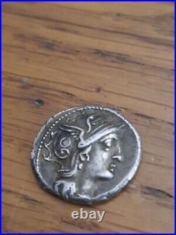 Superbe piece de monnaie Denier argent massif