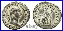 TRAJAN 97-117, denier, 99 Rome