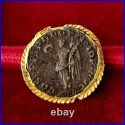 TRAJAN 98 117 après J. C. Denier pendentif, Rome