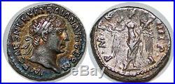 TRAJAN Denier P. M. TR. P. COS. IIII. P. P +102 ROME C. 240