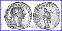 Trajan (98-117) Denier (l'equite), Ttb++