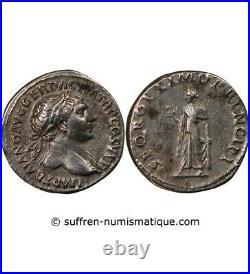 Trajan Denier Argent 105 Rome