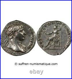 Trajan Denier Argent 108 Rome