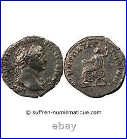Trajan Denier Argent 115 Rome