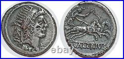 VALERIA Denier L. VALERIVS -45 ROME RCV. 473