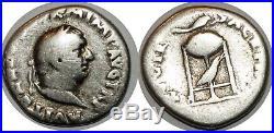 VITELLIUS Denier XV VIR SACR FAC +69 ROME RIC. 86