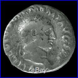 VITELLIUS, denier Rome en 69, CONCORDIA PR, 18mm, 3,26 grms, RIC 73 TB+ Rare