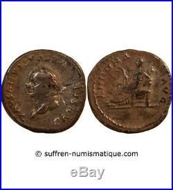Vespasien Denier Argent 78 / 79 Rome