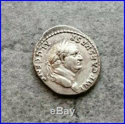 Vespasien Denier Pontif Maxim 3,47gr