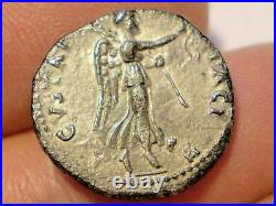 Vespasien. Denier d'argent (2,8 g), 69-79 ap. Type de Judaea Capta. Phse