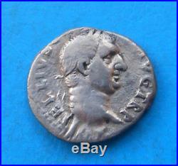 Vitellius denier XV VIR SACR FAC