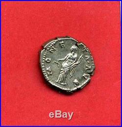 (rom 20) Hadrien 117-138 Denier 137 (rare) Sup